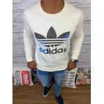 Blusa de Frio Adidas - Moletinho Creme