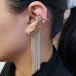 Kit De Brincos Ear Cuff Triângulo Prata
