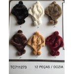 Touca Pacote com 12 peças