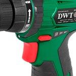 Parafusadeira/Furadeira 3/8 Pol. 10,8V Lition com 2 Bat., Carregador Bivolt, Maleta e Kit Acessórios - DWT-PFD-010