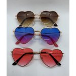 Oculos Aviador Coração