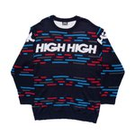 Knitwear High RGB Navy