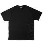 Camiseta High Work Tee Outline Logo Black