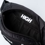 Water Resistant Money Bag High Black