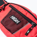 Water Resistant Money Bag High Coral