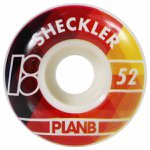 RODA PLAN B WHEELS PRISM SHECKLER 52MM