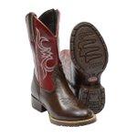 Botina Texana Infantil Escrete Kids 3807 Marrom