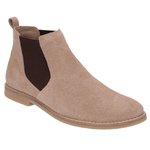 Botina Chelsea Boots ESCRETE Original Areia c/Elástico Café 502