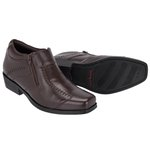Sapato Bota Social Urban Escrete Marrom 742