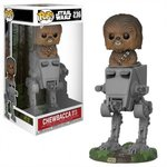 STAR WARS - CHEWBACCA WITH AT-ST POP! VINYL #236