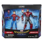 MARVEL LEGENDS – SPIDERMAN HOMECOMING – SPIDER MAN AND IRON MAN SENTRY 2-PACK