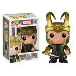 Marvel - Thor The Dark World Movie: Helmet Loki Pop! Vinyl Bobble Head