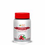 Cranberry para Infecções de urina com Vitaminas A, C, E e Zinco 500mg 60caps