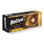 Biscoitos finos chocolate com maracujá sem glúten sem lactose Belive 110g