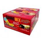 Bannemix Barra de Banana Cobertura Sabor Chocolate Branco Display 24 x 30g