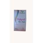 Polyvit Woman Hair+Nails 60 cápsulasx500mg