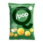 QPop Snack de Arroz com Quinoa Sabor Cebola e Salsa Display 6 x 35g