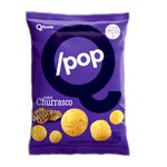 QPop Snack de Arroz com Quinoa Sabor Churrasco Display 6 x 35g