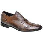 Sapato Social Oxford Lincoln Cromo Argentino Pinhão
