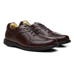 Sapato Casual Firenze Napa Fly Chocolate