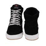 Sapatênis Masculino em Couro Preto Sneakers Galway 505