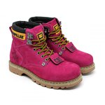Bota Caterpillar Second Shift - Pink