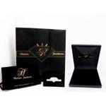 Gargantilha Pingente Coração de Granada em Ouro 18K Com Diamantes