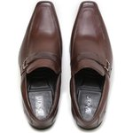 Sapato Masculino Loafer JDK Quebec T Mouro