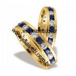 Alianças de Casamento Dourados