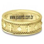 Anel de Ouro Masculino Blumenau
