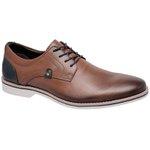 Sapato Social Masculino oxfort Couro Linha Cobalt Naturaly Havana 62