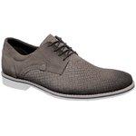 Sapato Social Masculino oxfort Couro Linha Cobalt Camurça Rato 60