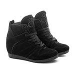 Tênis Sneaker LandFeet Cris Piza 02 Preto