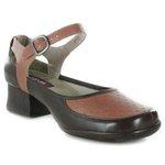 Sapato Em Couro Coffee J.Gean AC0048/03