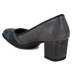 Sapato Em Couro Galeany Médio Cannon J.Gean