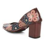 Sapato Em Couro Galeany Vermelho J.Gean