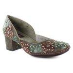 Sapato Em Couro Galeany Café J.Gean