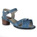 Sandália em Couro Lolla Baixa Indigo J.Gean BG0028-02