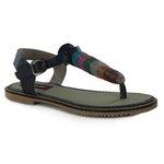Sandália Em Couro Blue J.Gean BI0063