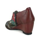Sandália Em Couro Susan Vermelha J.Gean