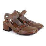 Sapato Em Couro New Kelly Amêndoa J.Gean