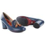 Sapato em Couro Navy J.Gean AG0039