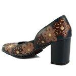 Sapato Em Couro Navy J.Gean AR0156