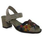 Sandália Em Couro Glace J.Gean BP0033