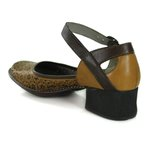Sapato em Couro New Kelly Gold J.Gean