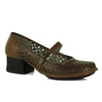 Sapato em Couro New Kelly Amêndoa J.Gean CK0042-12
