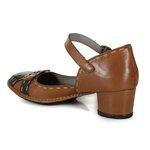 Sapato Em Couro Lolla Baixo Tamara J.Gean