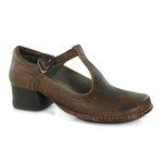 Sapato New Kelly Laranja Em Couro J.Gean