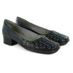 Sapato New Mariah Em Couro Preto J.Gean
