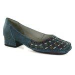 Sapato New Mariah Em Couro Denin J.Gean